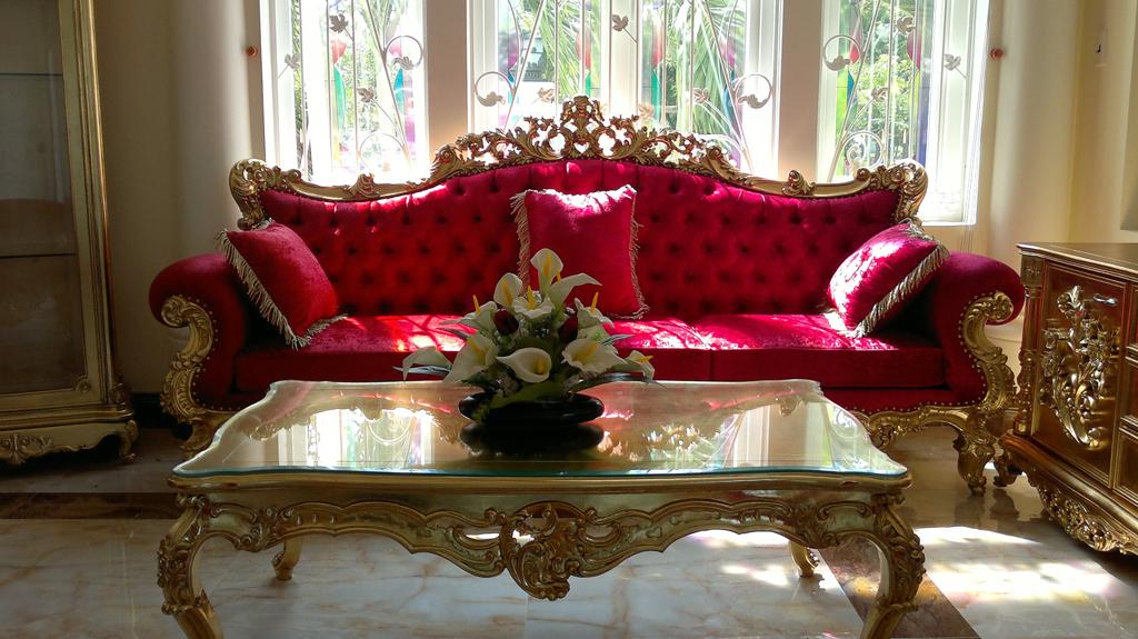 Dát vàng cho ghế sofa
