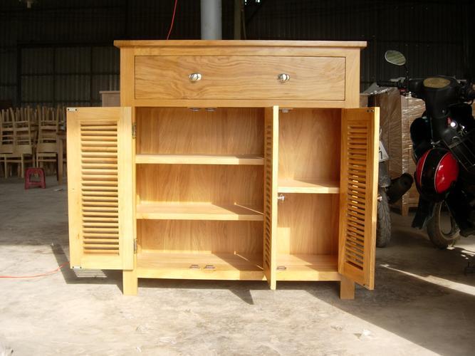 tủ gỗ đựng giày dép